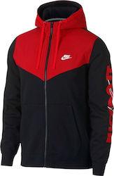 Nike Sportswear Full Zip Hoodie 931900-011 bb5fb4d1287