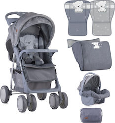 Lorelli Bertoni Foxy Set 2 in 1 10020381833 Grey My Teddy