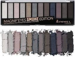 Rimmel Magnif'eyes Eyeshadow Palette Smoke