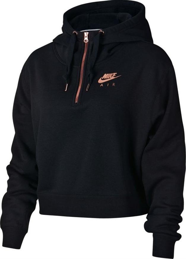 Nike Air Hoodie Fleece AV4915-011 - Skroutz.gr fe109d6f178