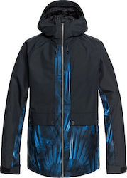 ΜΠΟΥΦΑΝ ΑΝΔΡΙΚΟ ΓΙΑ ΣΚΙ -Travis Ambition Snow Jacket (DAPHNE BLUE_STELLAR)-QUIKSILVER