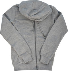 SUBLEVEL ZIP HOODIE ΓΥΝΑΙΚΕΙΟ - ΓΚΡΙ (D1026L01210A-23200)