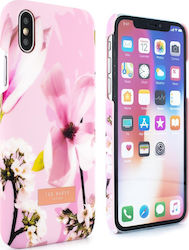 Ted Baker Soft Feel Hard Zoeni Pink (iPhone X / Xs)