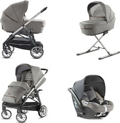 Inglesina Aptica Quattro System With Cab Car Seat Mineral Grey