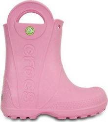 Crocs Handle It Rain Boots Carnation 12803-6I2