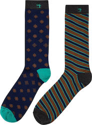 Scotch & Soda 2 Pack Socks-Blue (Κάλτσες Ανδρικό Cotton Blue - 145628/0218 )