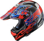 Arai VX-3 Wingflame Red