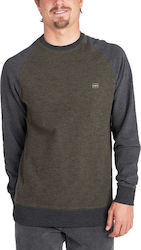 Billabong Balance Crew Sweatshit L1FL02-0176 - Military
