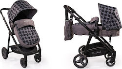 Cangaroo Rachel 2 in 1 Grey