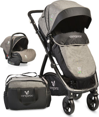 Cangaroo Stefanie 3 in 1 Grey