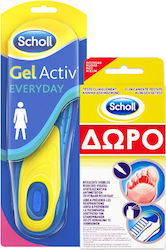 Scholl Gelactiv Everyday Γυναικείοι 2τμχ + Athletes Feet Mycosis Στυλό 4ml + Σπρέι 10ml