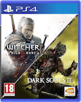 The Witcher 3: Wild Hunt / Dark Souls III Double Pack PS4