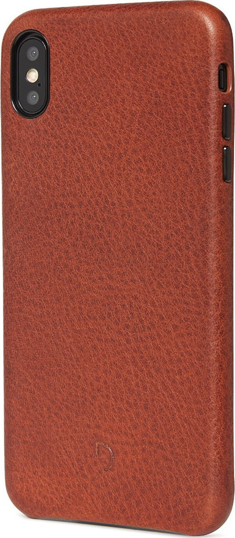 sports shoes 9f71b b08eb Decoded Leather Back Cover Καφέ (iPhone XS Max)