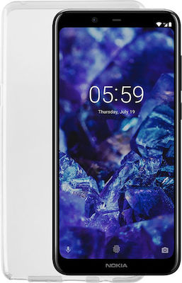 Idol 1991 Air Slim TPU Διάφανο (Nokia 5.1 Plus)