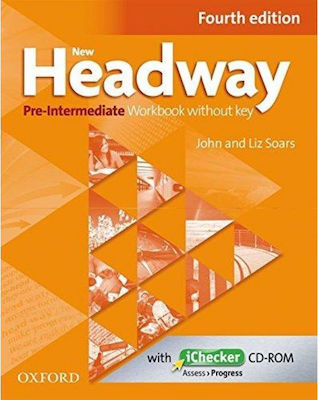 NEW HEADWAY PRE-INTERMEDIATE workbook (+ iCHECKER) 4TH ED