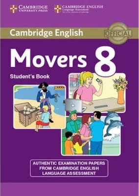 CAMBRIDGE YOUNG LEARNERS ENGLISH TESTS MOVERS 8 SB
