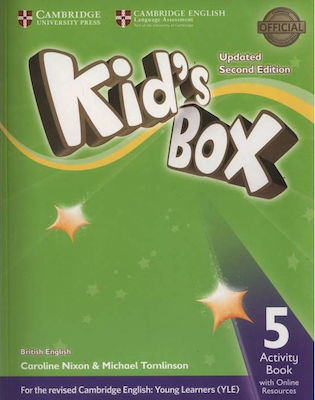 KID'S BOX 5 workbook (+ ONLINE RESOURCES) UPDATED 2nd edition