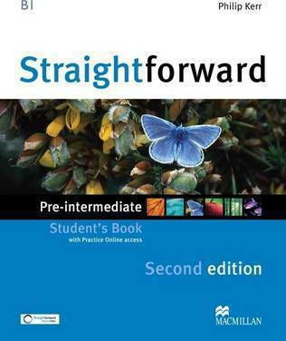 STRAIGHTFORWARD PRE-INTERMEDIATE Student 's Book (+ WEBCODE) 2nd edition