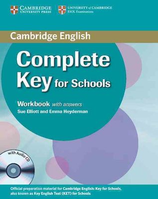 COMPLETE KEY FOR SCHOOLS workbook W/A (+ AUDIO CD)