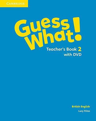 GUESS WHAT! 2 Teacher 's book (+ DVD)