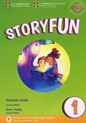 STORYFUN 1 Teacher 's book (+ DOWNLOADABLE AUDIO) (FOR REVISED EXAM FROM 2018 - STARTERS) 2nd edition