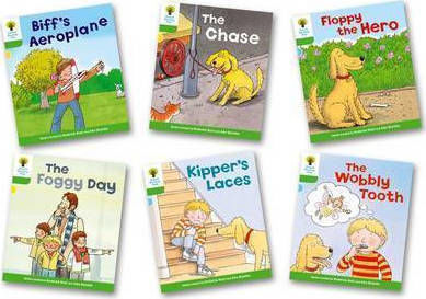 OXFORD READING TREE : READ WITH BIFF, CHIP AND KIPPER STORIES - MORE STORIES B (PACK OF 6) LEVEL 2