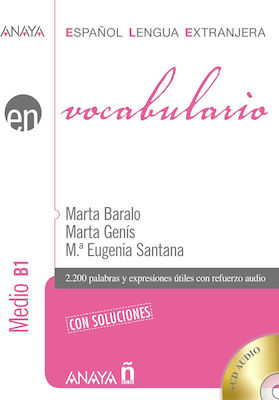 EN VOCABULARIO B1 MEDIO (+ AUDIO CD) CON SOLUCIONES N/E
