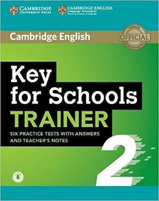 CAMBRIDGE ENGLISH KEY FOR SCHOOLS TRAINER 2 WO/A (+ AUDIO)