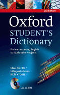OXFORD STUDENT'S DICTIONARY (+ CD-ROM) PB