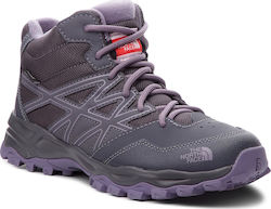 Μποτάκια πεζοπορίας THE NORTH FACE - Hedgehog Hiker Mid Wp NF00CJ8Q5SS Periscope Grey/Purple Sage
