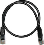 Adeleq U/UTP Cat.6 Cable 2m Μαύρο (9-14621)