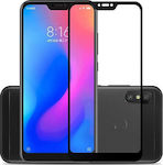 Full Glue 5D Full Face Tempered Glass Black (Mi A2 Lite)