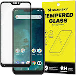 Wozinsky Full Face Tempered Glass Black (Mi A2 Lite)