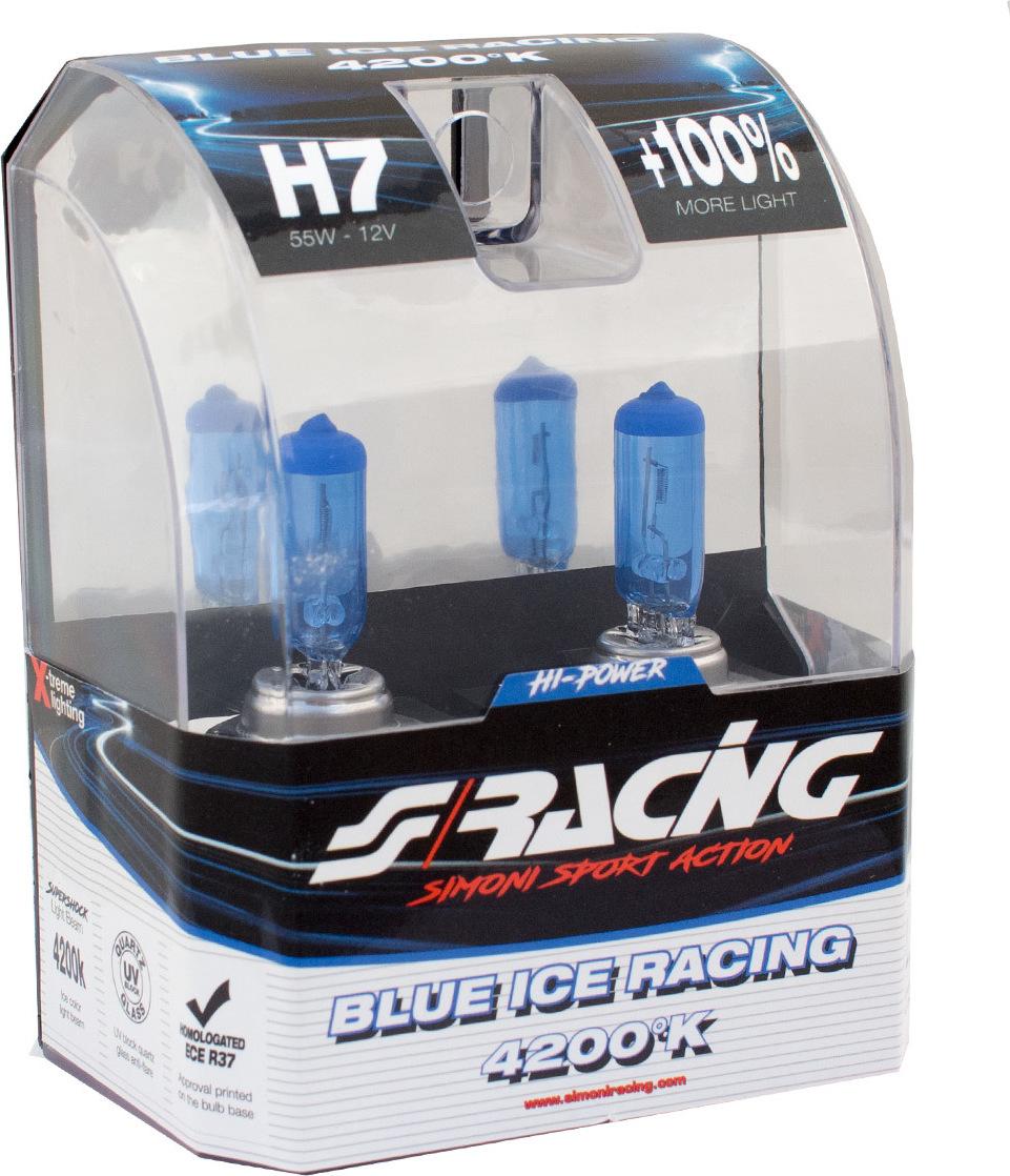 Προσθήκη στα αγαπημένα menu Simoni Racing H7 Blue Ice Racing 12V 2τμχ 4cee2c73536