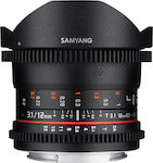 Samyang 12mm T3.1 VDSLR ED AS NCS Fisheye (Fujifilm X)