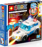 Light Stax Flashing Police Car 125τμχ