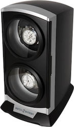 Time Tutelary Watch Winder 2 Watches KA015-S Black 3de3a4146da