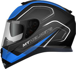 MT Thunder 3 SV Trace Matt Black-Blue