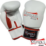 Olympus Sport Raja Genuine Leather Double 401402 White/Red