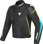 Dainese Super Rider D-Dry Black / Fire-Blue / F...