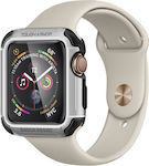 Spigen Apple Watch Series 4 (44mm) Case Tough Armor Silver