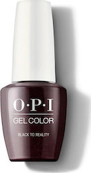 OPI Gel Color Black to Reality