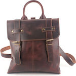 Kouros Leather Bag 163 Bordeaux