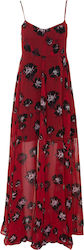 RELIGION W ASHLEY MAXI DRESS - 88HASD03-EFFORT/PRINT RED