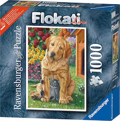 Golden Retriever Dog with Kitten 1000pcs (16039) Ravensburger