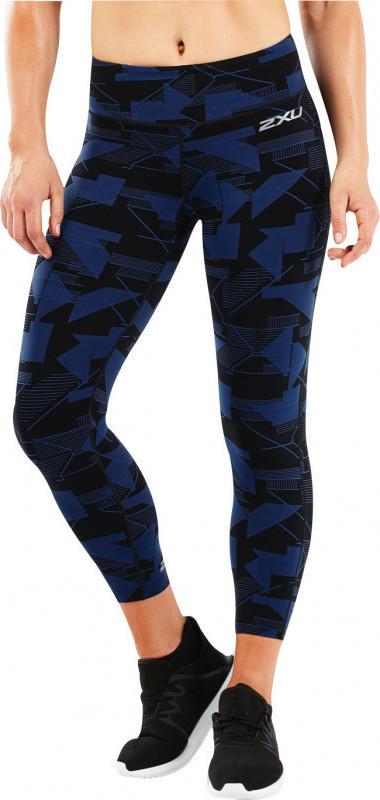 8f2d89db0dd 2XU Fitness Mid Rise Print 7/8 WA5388B SDS/SIL - Skroutz.gr