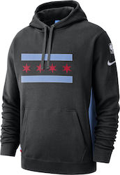 Nike Chicago Bulls City Edition Courtside Hoodie AJ2839-011
