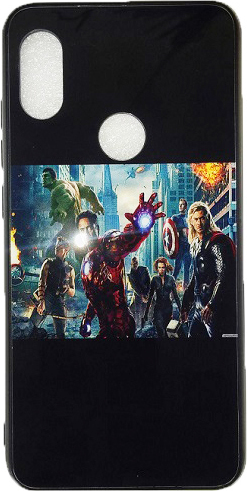 on sale 77a8c 7b19f Xiaomi Redmi Note 5 Pro Luxury Hard Back Cover from Movie The Avengers (oem)