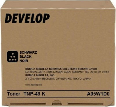 Develop TNP-49 Black Toner (A95W1D0)