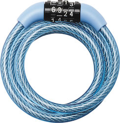 Master Lock 8143 Combination Cable Lock Blue